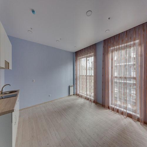 Жилой комплекс «ApartRiver» - Апартаменты №257, Студия, 31.6м2