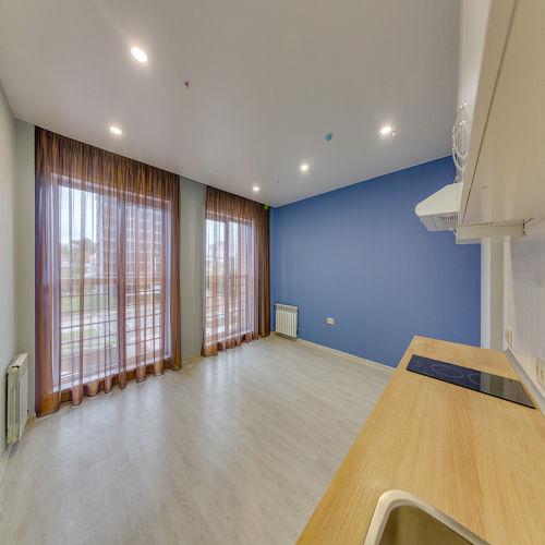 Жилой комплекс «ApartRiver» - Апартаменты №261, Студия, 31.26м2