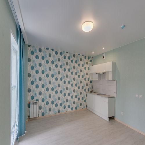 Жилой комплекс «ApartRiver» - Апартаменты №374, Студия, 31.54м2