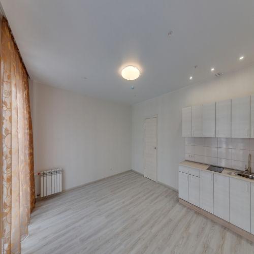 Жилой комплекс «ApartRiver» - Апартаменты №390, Студия, 31.6м2