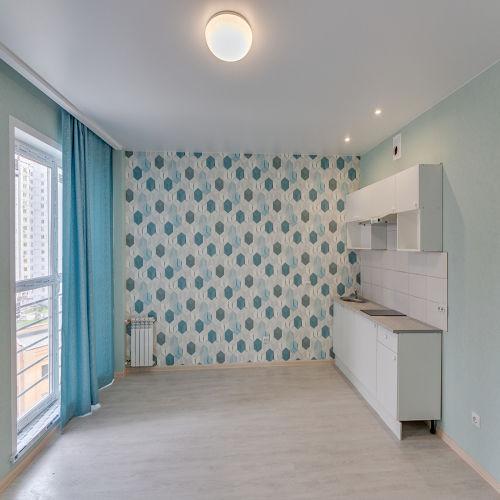 Жилой комплекс «ApartRiver» - Апартаменты №393, Студия, 31.54м2