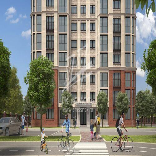 Жилой комплекс «Ломоносов» - Квартира №93, 1-комнатная, 35.65м2