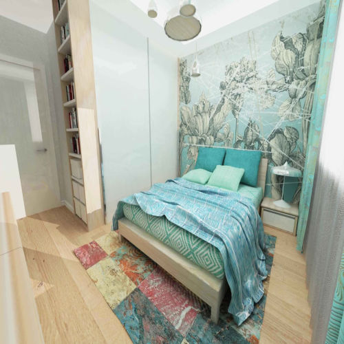 Жилой комплекс «Островский» - Квартира №12, 1-комнатная, 34.24м2