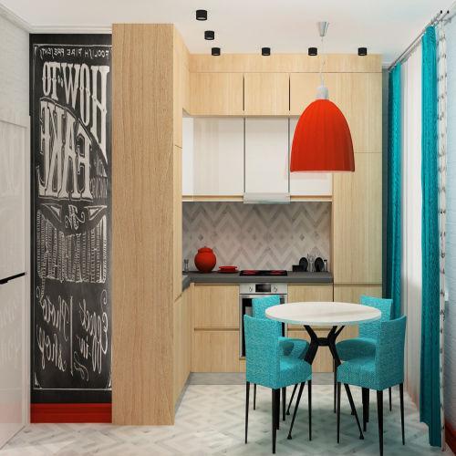 Жилой комплекс «Островский» - Квартира №109, 1-комнатная, 34.2м2
