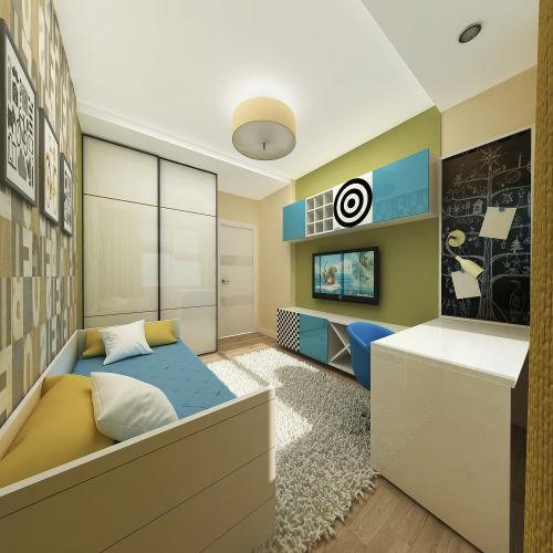 Жилой комплекс «Островский» - Квартира №200, 3-комнатная, 79.34м2