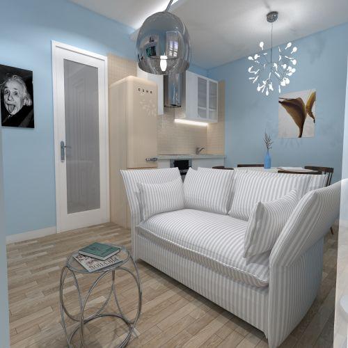 Жилой комплекс «ApartRiver» - Апартаменты №9, Студия, 27.79м2