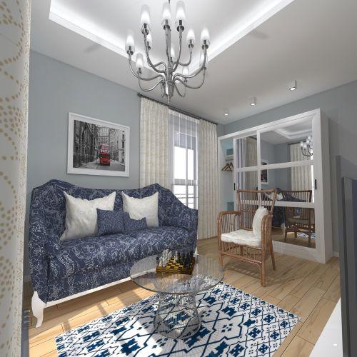 Жилой комплекс «ApartRiver» - Апартаменты №11, 2-комнатная, 50.7м2