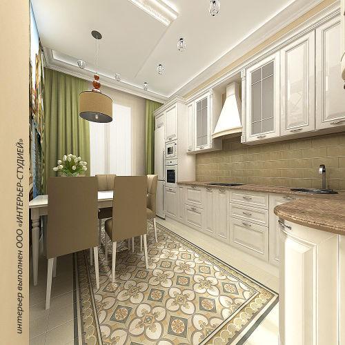 Жилой комплекс «Островский» - Квартира №210, 2-комнатная, 52.77м2
