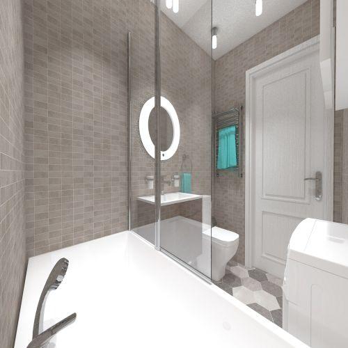 Жилой комплекс «ApartRiver» - Апартаменты №20, 2-комнатная студия, 36.76м2