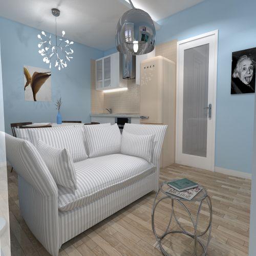 Жилой комплекс «ApartRiver» - Апартаменты №89, Студия, 27.63м2