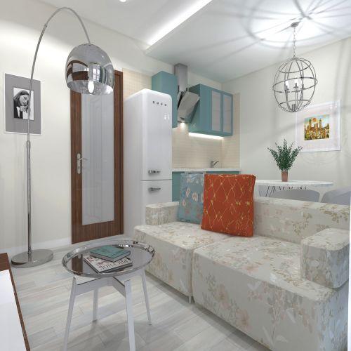 Жилой комплекс «ApartRiver» - Апартаменты №39, Студия, 27.56м2