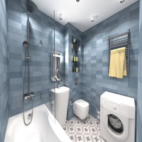 Жилой комплекс «ApartRiver» - Апартаменты №147, 2-комнатная, 50.7м2