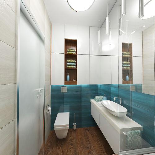 Жилой комплекс «Островский» - Квартира №203, 1-комнатная, 32.99м2