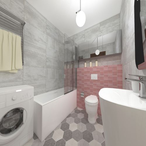 Жилой комплекс «ApartRiver» - Апартаменты №173, 2-комнатная студия, 40.45м2