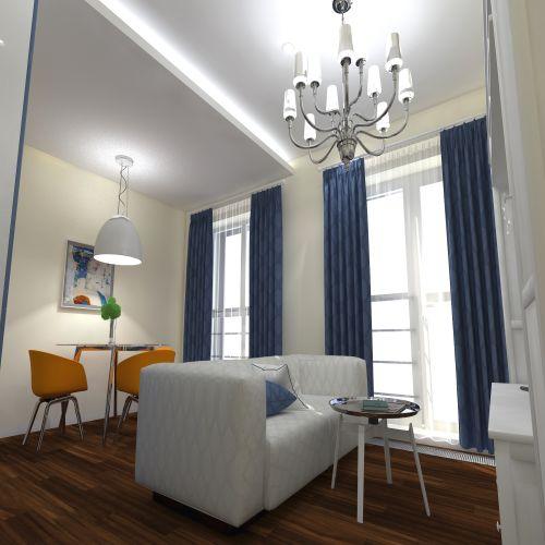 Жилой комплекс «ApartRiver» - Апартаменты №174, Студия, 27.65м2