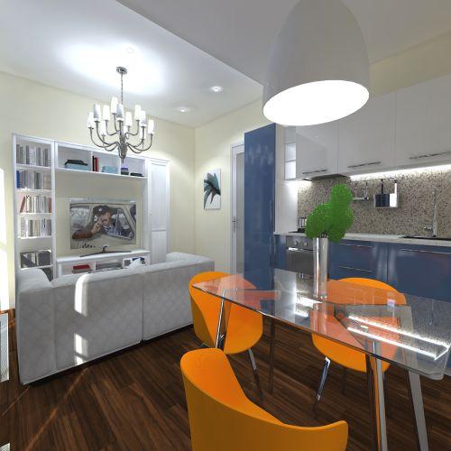 Жилой комплекс «ApartRiver» - Апартаменты №178, Студия, 27.65м2