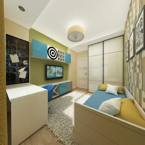 Жилой комплекс «Островский» - Квартира №206, 3-комнатная, 79.34м2
