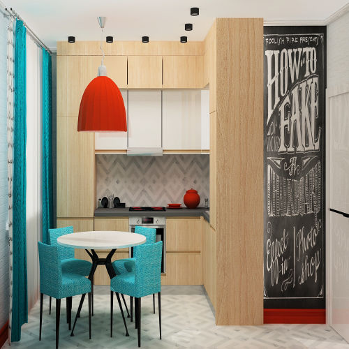 Жилой комплекс «Островский» - Квартира №24, 1-комнатная, 34.2м2
