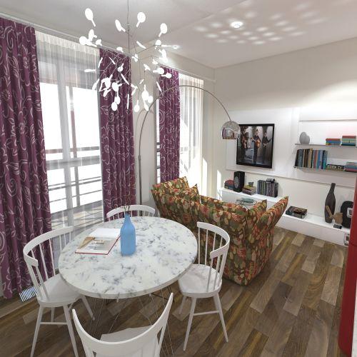 Жилой комплекс «ApartRiver» - Апартаменты №359, Студия, 27.66м2
