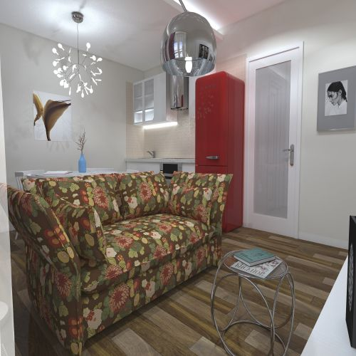 Жилой комплекс «ApartRiver» - Апартаменты №341, Студия, 27.16м2
