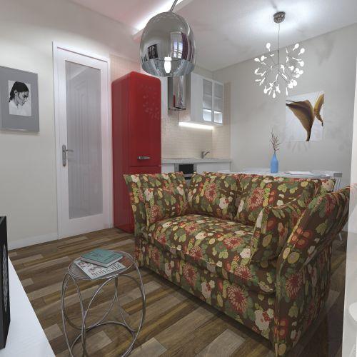Жилой комплекс «ApartRiver» - Апартаменты №308, 1-комнатная, 27.42м2