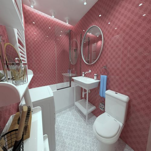 Жилой комплекс «ApartRiver» - Апартаменты №368, 2-комнатная студия, 36.9м2