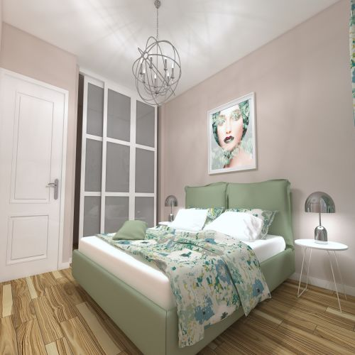 Жилой комплекс «ApartRiver» - Апартаменты №334, 2-комнатная студия, 41.82м2
