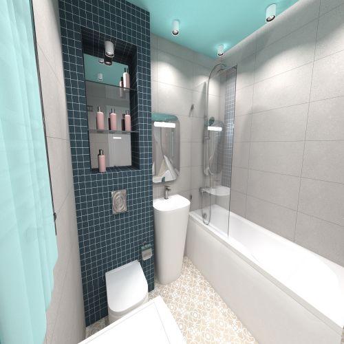 Жилой комплекс «ApartRiver» - Апартаменты №396, 2-комнатная, 47.73м2