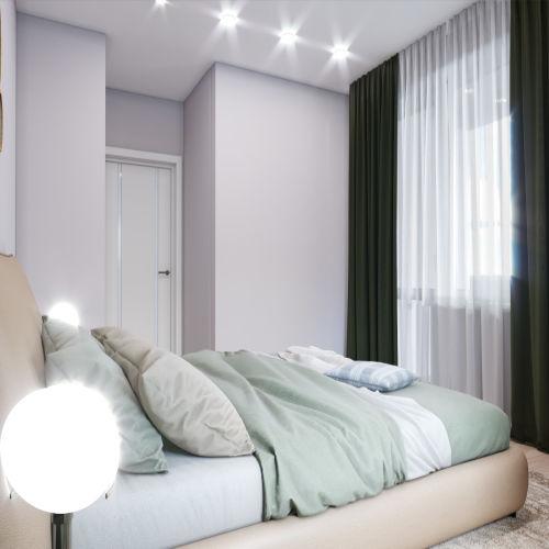 Жилой комплекс «Гранит» - Квартира №4, 1-комнатная, 35.5м2
