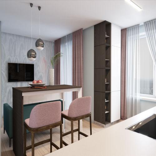 Жилой комплекс «Гранит» - Квартира №5, Студия, 26.26м2