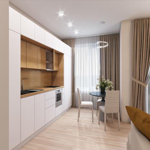 Жилой комплекс «Гранит» - Квартира №7, Студия, 27.56м2