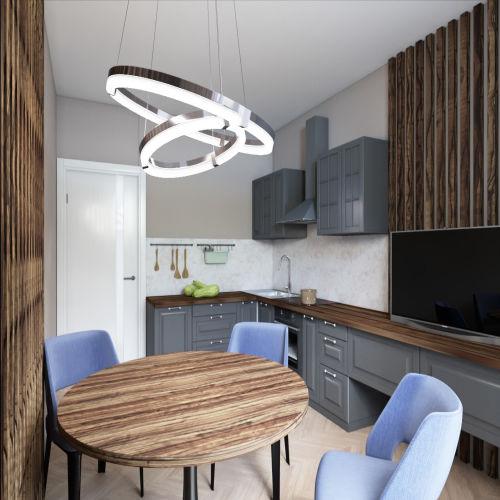 Жилой комплекс «Гранит» - Квартира №9, 2-комнатная, 59.2м2
