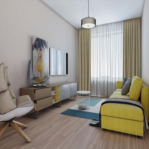 Жилой комплекс «Гранит» - Квартира №11, 2-комнатная, 59.21м2