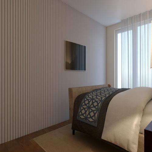 ЖК «Бирюзовая жемчужина» - Квартира №65, 3-комнатная студия, 70.03м2