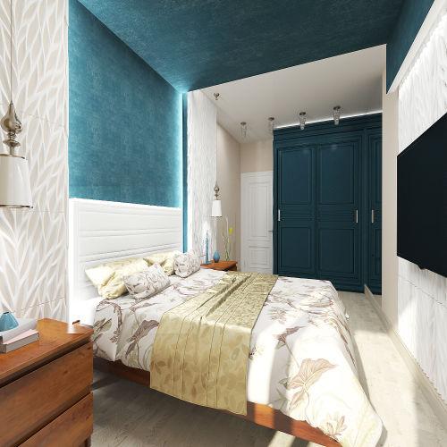 Жилой комплекс «Островский» - Квартира №230, 2-комнатная, 64.39м2