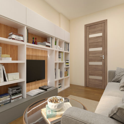ЖК «Бирюзовая жемчужина» - Квартира №66, 2-комнатная, 53.57м2
