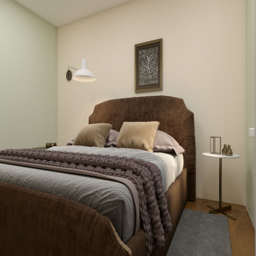 ЖК «Бирюзовая жемчужина» - Квартира №18, 2-комнатная, 53.57м2