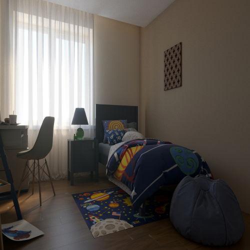 ЖК «Бирюзовая жемчужина» - Квартира №32, 3-комнатная студия, 70.13м2
