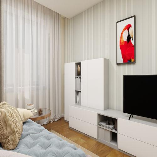 ЖК «Бирюзовая жемчужина» - Квартира №138, 1-комнатная, 36.43м2