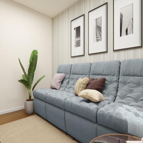 ЖК «Бирюзовая жемчужина» - Квартира №154, 1-комнатная, 36.43м2