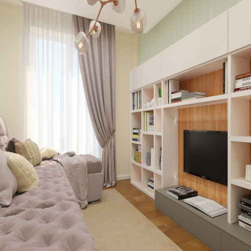ЖК «Бирюзовая жемчужина» - Квартира №171, 2-комнатная, 53.73м2