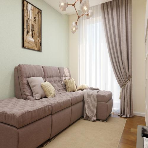 ЖК «Бирюзовая жемчужина» - Квартира №111, 2-комнатная, 53.73м2