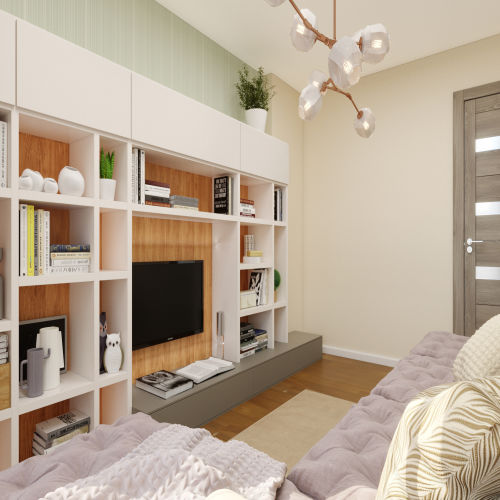 ЖК «Бирюзовая жемчужина» - Квартира №143, 2-комнатная, 53.73м2