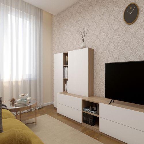 ЖК «Бирюзовая жемчужина» - Квартира №160, 3-комнатная студия, 67.72м2