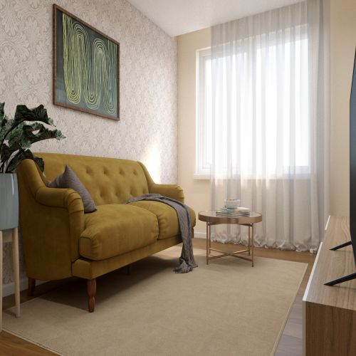 ЖК «Бирюзовая жемчужина» - Квартира №108, 3-комнатная студия, 67.72м2