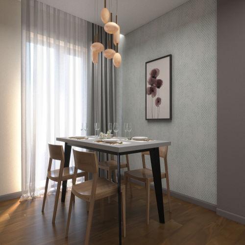 ЖК «Бирюзовая жемчужина» - Квартира №205, 4-комнатная студия, 83.05м2