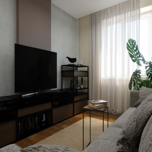 ЖК «Бирюзовая жемчужина» - Квартира №193, 4-комнатная студия, 83.05м2
