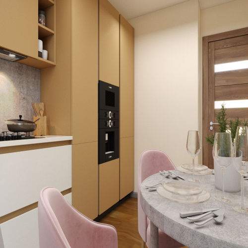 ЖК «Бирюзовая жемчужина» - Квартира №186, 2-комнатная, 57.73м2