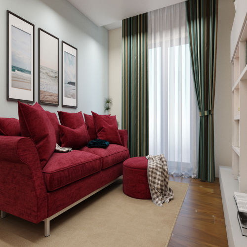ЖК «Бирюзовая жемчужина» - Квартира №187, 2-комнатная, 54.71м2