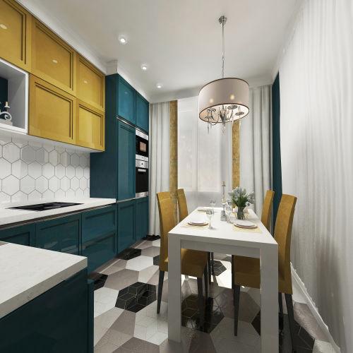 Жилой комплекс «Островский» - Квартира №363, 2-комнатная, 64.39м2
